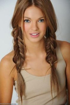 Adorable Pigtail Braids - Perfect Summer Look!