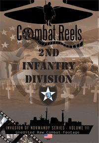 This is a DVD of the 2nd Infantry Division, also known as 'Indianhead', one of the immediate follow-up American Infantry Divisions used in the invasion of France in early June of 1944. The division would land in the Omaha Beach sector, the bloodiest beach of the invasion, and quickly move to support the center of the V Corps bridgehead