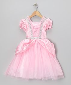 Pink & Silver Fairy-Tale Dress - Toddler & Girls | Daily deals for moms, babies and kids