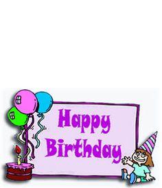 Postal de cumpleaños para niña con el texto www.fotoefectos.com