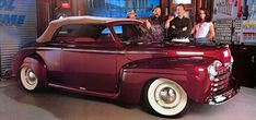 "Tim's 1946 Ford Convertible is one of the two cars built on his hit #TV show ""Home Improvement."" #cars in #movies"