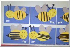 preschool bumblebee craft, bee kindergartenidea, bumblebee classroom, preschool insect crafts, craft activities, bumble bee crafts preschool, bumblebees preschool, bumble bees, kid