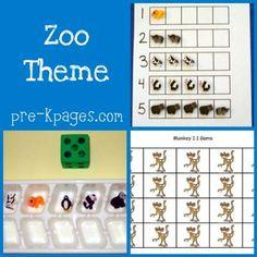 zoo theme in preschool