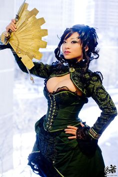 #steampunk #female