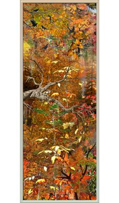 """""""3617 - October forest bookmark."""" by suburbhater on Polyvore"""