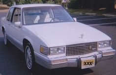 My first Cadillac, 89 Coupe Deville Liberty Edition