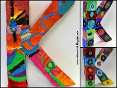 Art Room 104: Studio Art: 3-D Master's Paintings (Picture Heavy Post!)