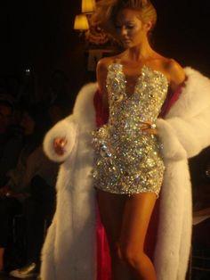 Sequin dress!