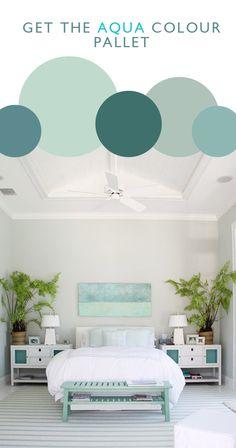 Aqua Colour Pallet -