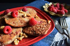 Raspberry Almond Pan