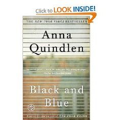 Black and Blue...great book about domestic violence