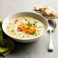 dutch ovens, potatoes, potatocheddar soup, gardens, lunch, potato soup, homes, soup recipes, vegetarian soups