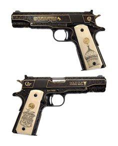 Colt 45 Gold Cup National Match pistol