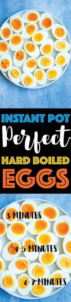 Instant Pot Perfect Hard Boiled Eggs - Damn Delicious