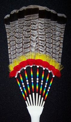 FanGrouse1 feather work