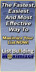 Safelist Tip:  WARNING: List Building Maximizer Delivered 21,997,759 Real Visitors To Member's Websites in the Month of July, 2012...    ...Are You Searching For A REAL Solution To Get More Sales, More Profits and More Customers Each and Every Month?