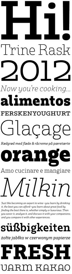 Rum Serif.