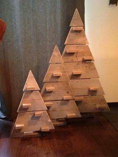 Kerstboom van steigerhout!