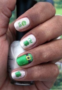 Kiss Me - I'm Irish - St. Patty's Day Nail Art Decals