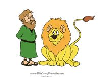 Daniel in The Lion's Den Printables