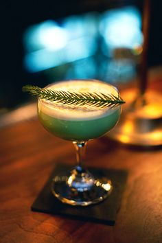 Find out how to make a Pine Flip—a winter cocktail created just for RL Magazine by The Musket Room