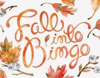 Bingo Newsletter Covers by Sasha Prood, via Behance