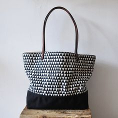 #Triangle tote bag from Bookhou at Home.  #Fashion #New #Nice #Sunglasses www.2dayslook.com