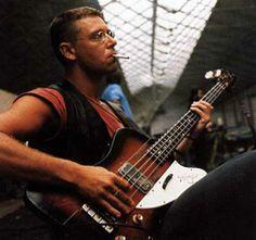 Adam Clayton - Gibson Thunderbird