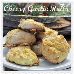 Gluten-Free Cheesy Garlic Rolls recipe