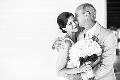 love this father daughter shot! | Robyn Van Dyke #wedding