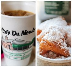 Cafe du Monde....oh geez, I could start every morning with a cafe au lait and a beignet from NOLA : )