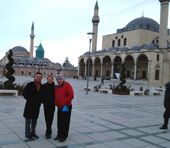 Three University employees have returned from a visit to Turkey, where they visited six universities to explore international programming options.
