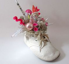 Shabby Chic Style Christmas Decoration