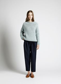Perry Sweater and Cico Trousers | Samuji SS14 Seasonal Collection