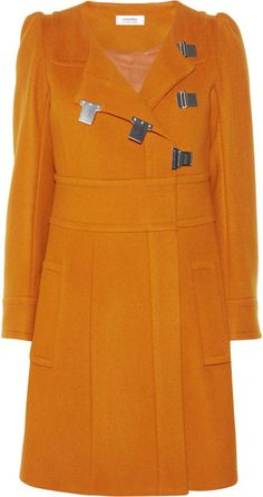 Sonia Rykiel Wool and Cashmere-blend Coat