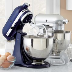 Shop KitchenAid Artisan Stand Mixer KSM150PS at CHEFS in Stainless Steel