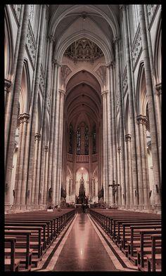 Catedral de La Plata, Buenos, Aires, Argentina by Juan Gargiulo, via 500px