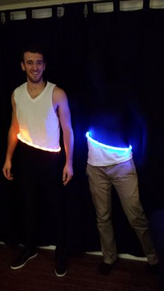 "PORTAL!! Pinner: ""My buddy and I went as portals for Halloween"" - from Imgur."