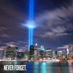 Never forget.  Find out how you can get involved.    http://www.911memorial.org/get-involved