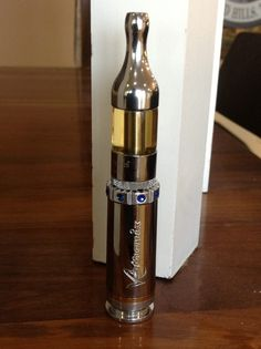 V3 .50 Cal Aluminum Bullet - Short Mode - with Kanger Pro Tech Atomizer on top