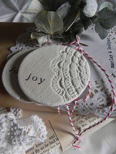 air dry clay, diy crafts, homemade ornaments, diy ornaments, salt dough, craft projects, clay ornaments, christmas ornaments, homemade christmas