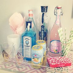 bar tray. every girl should have a girly bar