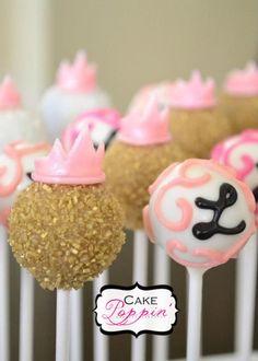 Princess cake pops  www.facebook.com/cakepoppin