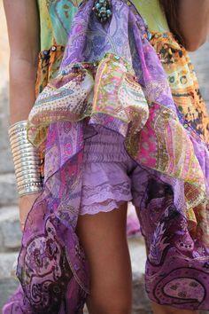 gypsy boho colors!