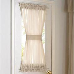 Whole Home®/MD Rhapsody' Voile Door Panel - Sears | Sears Canada, cover window in door