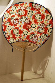 Uchiwa or wind fan, introduced to Japan and China in the 5th century