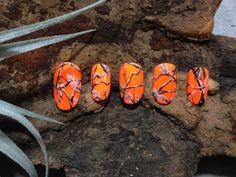 Blaze Orange REALTREE 3D Nails