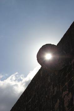 Light in Chichen itza, Mexico