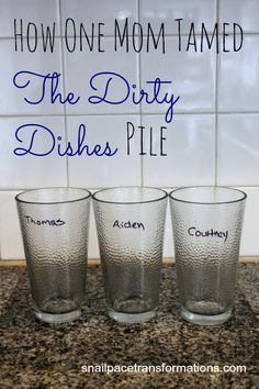 A simple trick that will cut your dirty dishes pile dramatically.