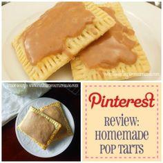 grey Pinterest Review: Homemade Pop Tarts